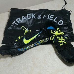 Nike Rival Zoom S black neon green blue 9